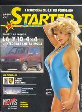Starter n. 39 1986 Samantha Fox ,adesivi Porsche , Rolls Royce  R