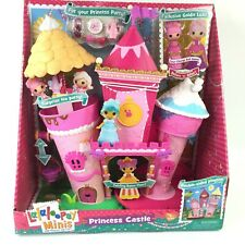 Lalaloopsy Minis Princess Castle Double-sided Playset Color Changing Doll NEW