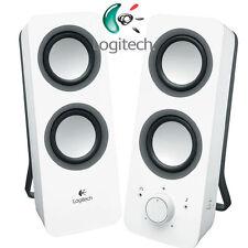 Logitech z200 speaker/haut-parleur 2.0 - Audio Line-in/NEUF-BLANC