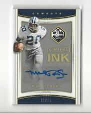 2017 Limited Ink Gold Spotlight Mel Renfro AUTOGRAPH Cowboys /25