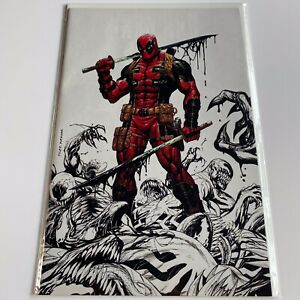 Deadpool Kills The Marvel Universe Again 1 SDCC Exclusive By Tyler Kirkham NM