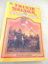 TRIXIE BELDEN #5 MYSTERY OFF GLEN ROAD PB c1985 SQUARE EDITION Julie Campbell