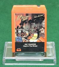 PAT TRAVERS BAND - HEAT IN THE STREET 1978 POLYDOR RECORDS 8 TRACK TAPE