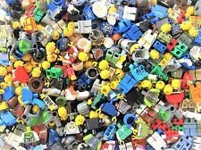 LEGO Minifigure Parts from Huge Lot Bulk - U BUILD Minfigs 40 pcs Girl Boy READ!