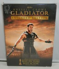 Gladiator Extended Edition 3-Disc Dvd - 2005 Russell Crowe Additional Footage