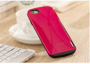 iFace Innovation Fashion Color Shockproof Case w Card Slot for iPhone 6S/6S plus