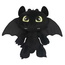 "How to Train Your Dragon Plush Toothless Night Fury Soft Toy Doll Teddy 12"" BIG"