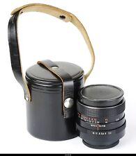 Lens Zeiss Flektogon Macro 2.4/35mm Red  MC  No.99793   For Praktica M42   Mint