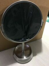 InterDesign Rain Free Standing Vanity Makeup Mirror for Bathroom Countertops -