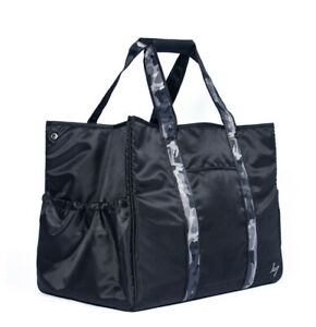 LUG ROVER X-Large Carry-All Tote Solid BLACK NWT