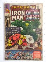Tales of Suspense Issue 69 September 1965 Iron Man & Captain America Marvel GD
