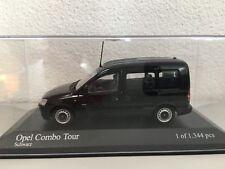 Minichamps 400042001 Opel Combo C Tour 2002 1:43,Noir,Maquette de voiture,1344