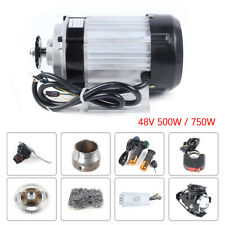 48V 500W/750W Bicycle Conversion kit Electric Motorized Tricycle Brushless Motor