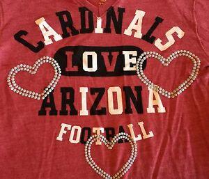 Arizona Cardinals Long Sleeve Girls Tee Shirt from NFL Team Apparel XL(14-16)$22