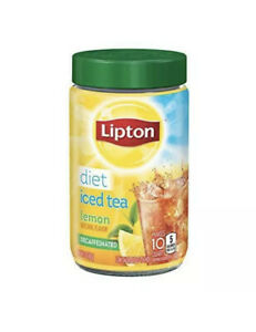 Lipton Powdered Mix Iced Tea For a Cool Beverage Diet Decaffeinated Lemon NEW