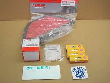 Tune Up Kit 2008-2007 Yamaha R1 Spark Plug Oil Filter Air Filter Gasket