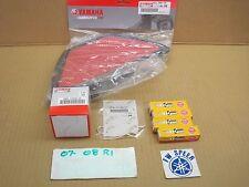 Tune Up Kit 2008-2007 Yamaha R1 Spark Plug Oil Filter Air Filter Gasket