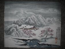 Original water color painting from China