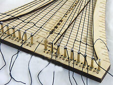 Wooden ship tool the Rope ladder weaver rope crochet COMBO wooden Tool