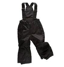 American Project black kids boys Girls ski trousers salopettes Size 98 Style Bob