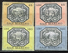 San Marino Arts Miniature Painting set 1972 MNH