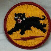 Vtg Military Patch 66th Infantry Division Insignia Variant 66 White Back Type I