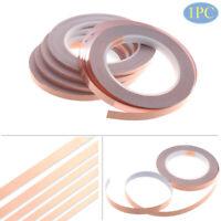 Copper Foil Tape Strip Adhesive Single Side Conductive Shielding Heat Resist