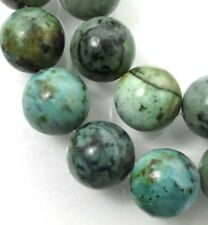 10mm Natural African Turquoise Round Beads (19)