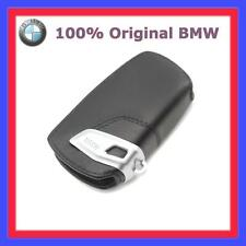 1xoriginal BMW ESTUCHE CON LLAVE CUERO NEGRO FUNDA 1er 3er 5er 6er 7er leder