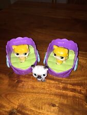 HASBRO LITTLEST PET SHOP MAGIC MOTION BEDS PETS MOVING TONGUES 18