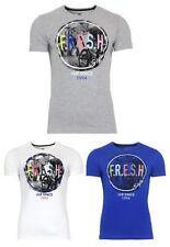 s.Oliver Kurzarm Herren-T-Shirts mit Rundhals-Ausschnitt
