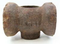 Swett #12 Circus Tent Post Maul Antique Sledge Maul Hammer Head #M89B