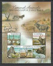 NAMIBIA, 2007 Tiere Block 67 I **, (29366)
