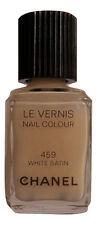 NEW! CHANEL Le Vernis # 459 White Satin Nail Colour / Polish / Lacquer Brand New