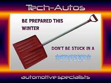 PACK OF 20 Brand new snow shovel muck mucking out scoop  - stock clearence *red