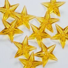 12 Gold Acrylic Stars Table Scatter Vase Filler Wedding Party Decoration
