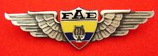 ORIGINAL VINTAGE ECUADOR AIR FORCE BAND WINGS