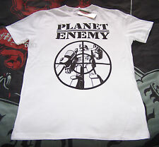 Transformers Planet Enemy Mens White Printed T Shirt Size XL New