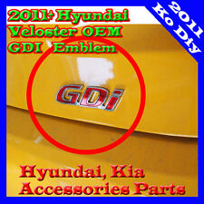 Rear Trunk GDI Emblem Genuine OEM For 2012 2013 2014 2015+ Hyundai Veloster