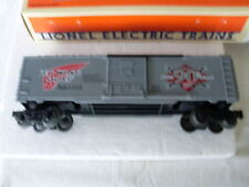 "LIONEL ""O"" AND ""027"" RED WING SHOES BOX CAR CELEBRATING  OUR 90th YEAR"