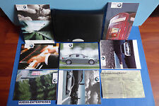 2004 BMW E46 Sedan 320 325 330 i xi Owner Manuals Driver Books Pouch Set 011117E