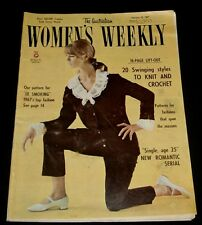 WOMEN'S WEEKLY MAGAZINE 1967 ~ RETRO 1960s FASHION MAKEUP COOKING etc