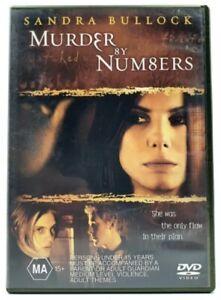 Murder By Numbers (DVD Region 4) Sandra Bullock,Ryan Gosling,Chris Penn