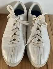 K-SWISS Tennis Shoes. RARE!  Made In Indonesia.  Size 7.5.  Preowned