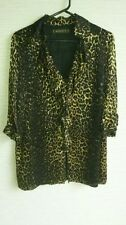Viscose Animal Print Maggie T Tops for Women