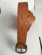 Calvin Klein Ladies Genuine Leather Brown Belt, size XL