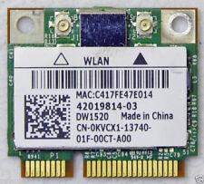 Wi-Fi WLAN WIRELESS card network card DELL MINI PCI-E DW1520 0KVCX1 Tested Good