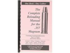 .357 Magnum  Reloading Manual LOADBOOKS USA 357 Mag  NEW   Great!