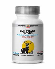 Health And Personal Care - ELK VELVET ANTLER 550 - pure herbal product - 1B 60C