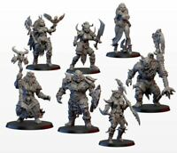 ORCS BRUTES - RPG Miniatures for Warhammer fantasy, Age of Sigmar,9th Age, KoW,D